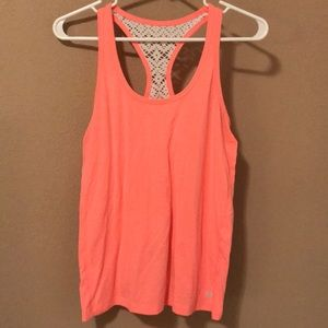 Forever 21 peach racerback tank top